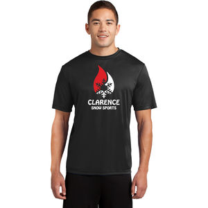 Clarence Ski Club Sport-Tek® PosiCharge® Competitor™ Tee - Blue Bison Sports