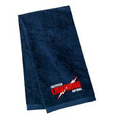 Lightning Softball Port Authority® Sport Towel - Blue Bison Sports