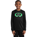 Slope Hobos Ski Club Sport-Tek® Youth Long Sleeve PosiCharge® Competitor™ Tee - Blue Bison Sports