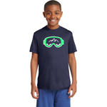 Slope Hobos Ski Club Sport-Tek® Youth PosiCharge® Competitor™ Tee - Blue Bison Sports