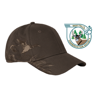 West Falls Conservation Society Dri Duck Mallard Structured Mid-Profile Hat