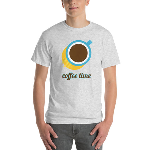 Coffee Time Gildan Short Sleeve T-Shirt