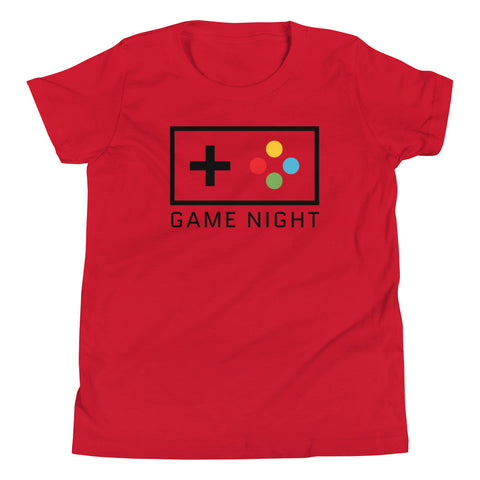 Game Night Bella Youth Short Sleeve T-Shirt
