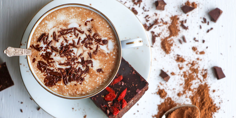 Vegan hot chocolate season is here