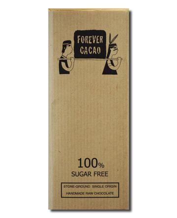 Forever Cacao: Bean to Bar 100% Sugar Free Bar