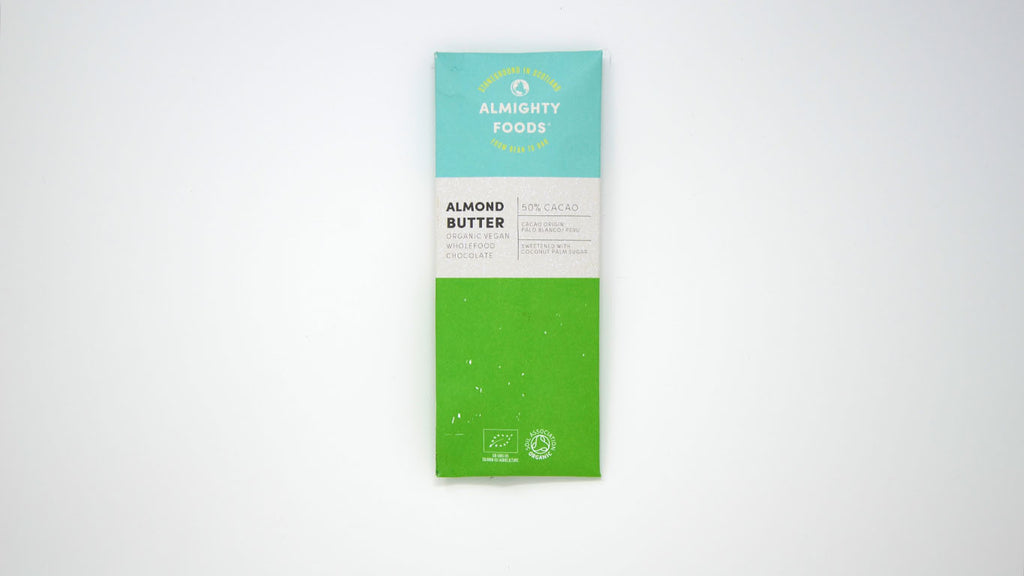 Almond Butter Chocolate - Organic (30g)