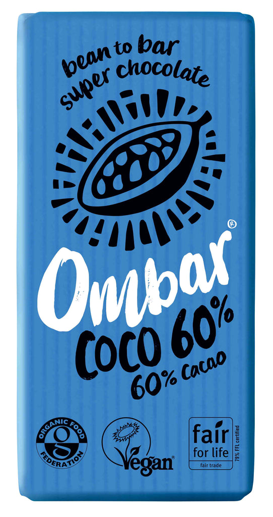 Ombar Coconut 60% Organic Chocolate