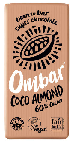 Ombar Coco Almond Raw Chocolate (70g)