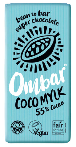 Ombar Coco Mylk Organic Chocolate (70g) (Case of 10)