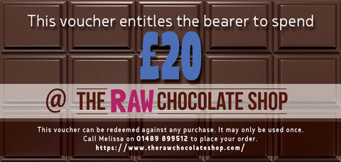 £20 Raw Chocolate Shop Voucher