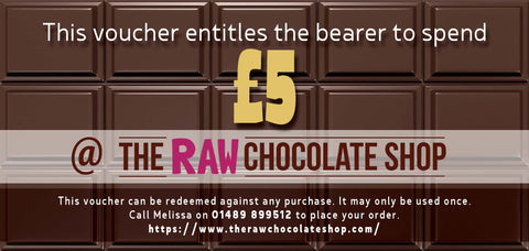 £5 Raw Chocolate Shop Voucher
