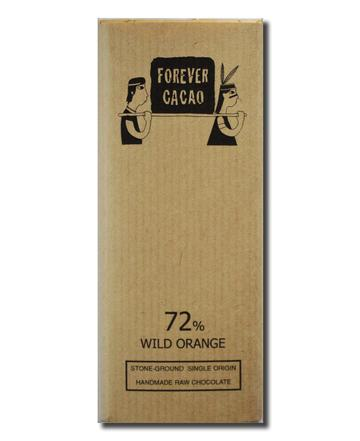 Forever Cacao: Bean to Bar 72% Wild Orange Bar