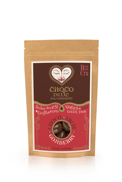 Raw Chocolate Covered Goji Berries (70g)