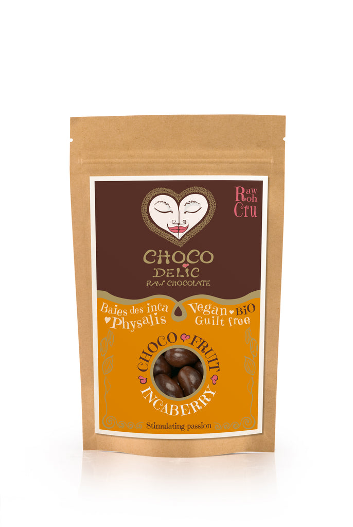 Raw Chocolate Covered Inca Berries (70g)
