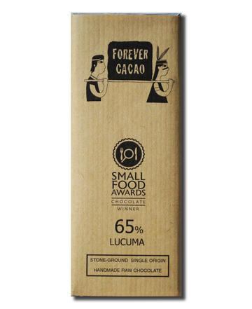 Forever Cacao: Bean to Bar 65% Lucuma Bar