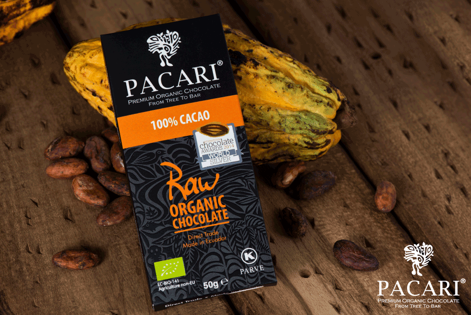 Pacari Organic 100% Raw Chocolate (50g)