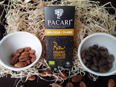Pacari Raw 101% Organic Chocolate (50g)