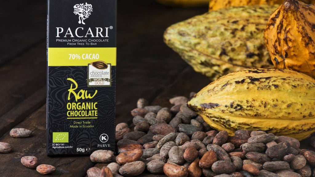 Pacari Organic 70% Raw Chocolate (50g) - Gold Award Winner