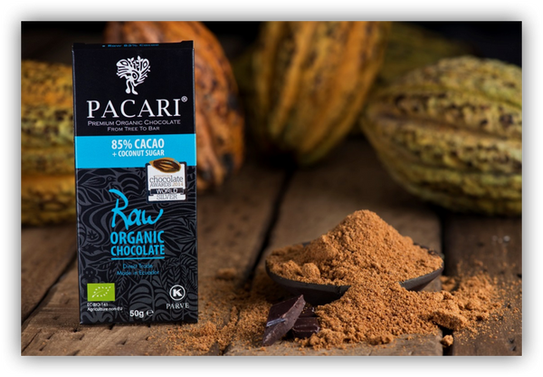 Pacari 85% Cacao with Coconut sugar (50g)