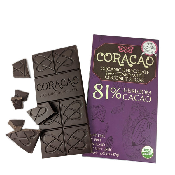 Coracao 81% Cacao Bar (2oz / 57g)