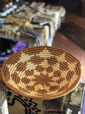 beige and brown Columbian Basket