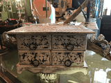 4 Drawer Jewelry dresser,,decorative box The Funky Hippy Chic Boutique
