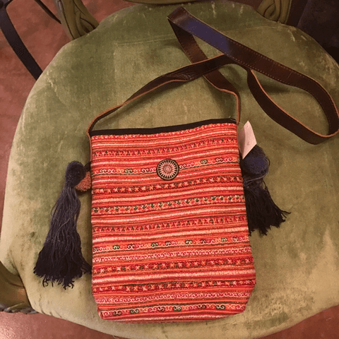 Hill Tribe stripped bag,,Bags The Funky Hippy Chic Boutique
