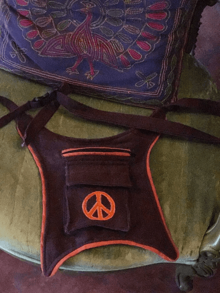 Peace pouch,,Bags The Funky Hippy Chic Boutique
