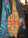 grain sack lama bag,,Bags The Funky Hippy Chic Boutique