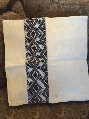 Hemp pillow case