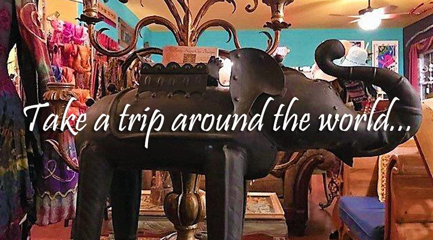 Take a trip around the world