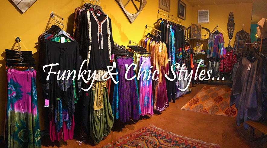 Funky & chic clothing styles