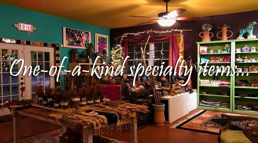 One-of-a-kind specialty items