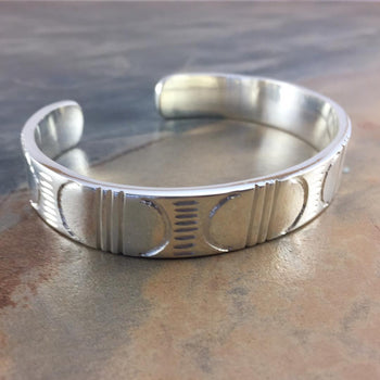 Ndebele Inspired Cuff Bangle