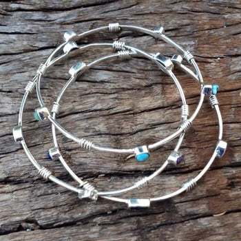 Birthstone Energy Bangles