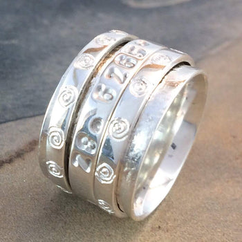Take Me Home Ndoro GPS Ring Made in Silver