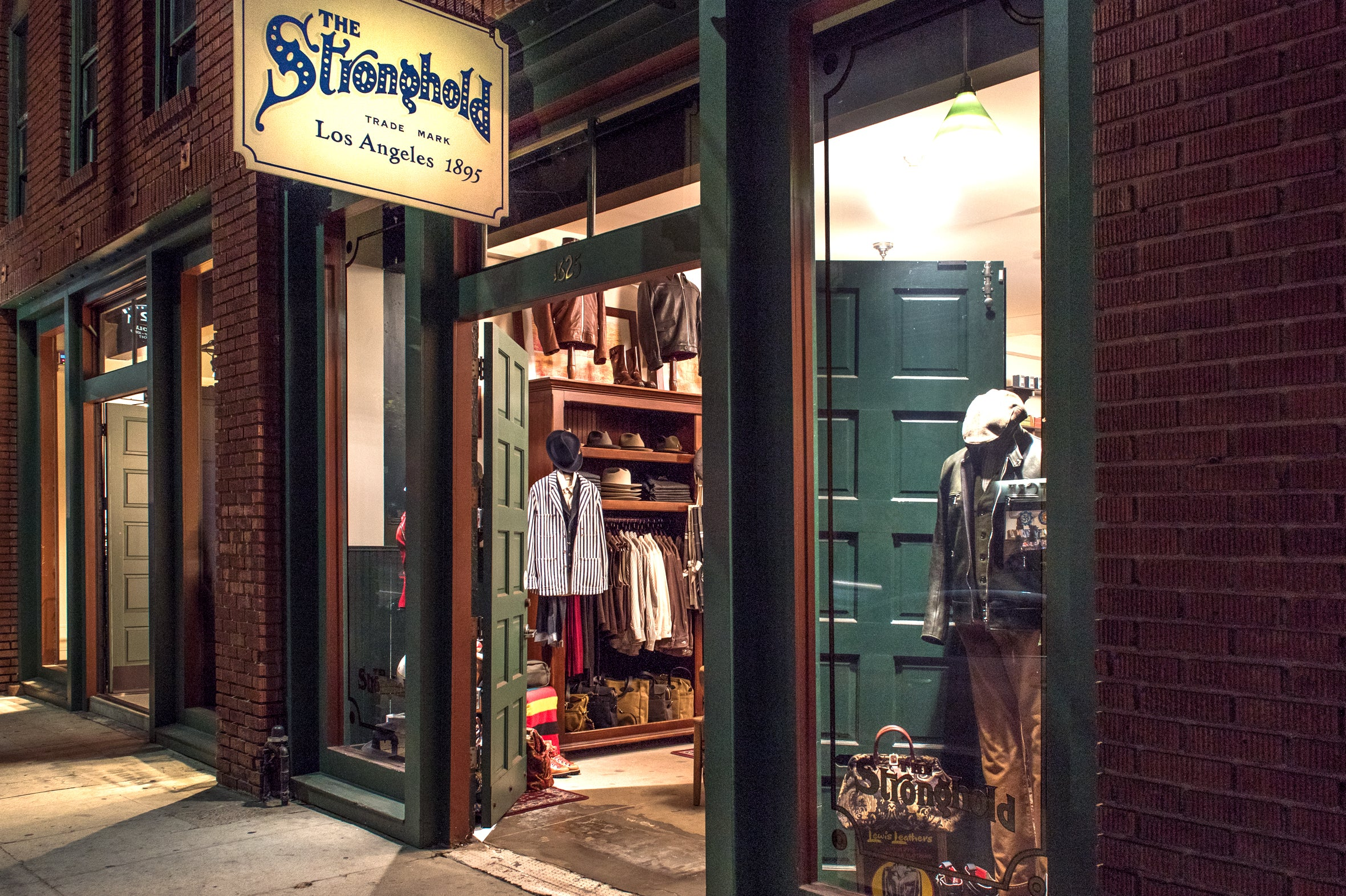 The Stronghold flagship store exterior 2