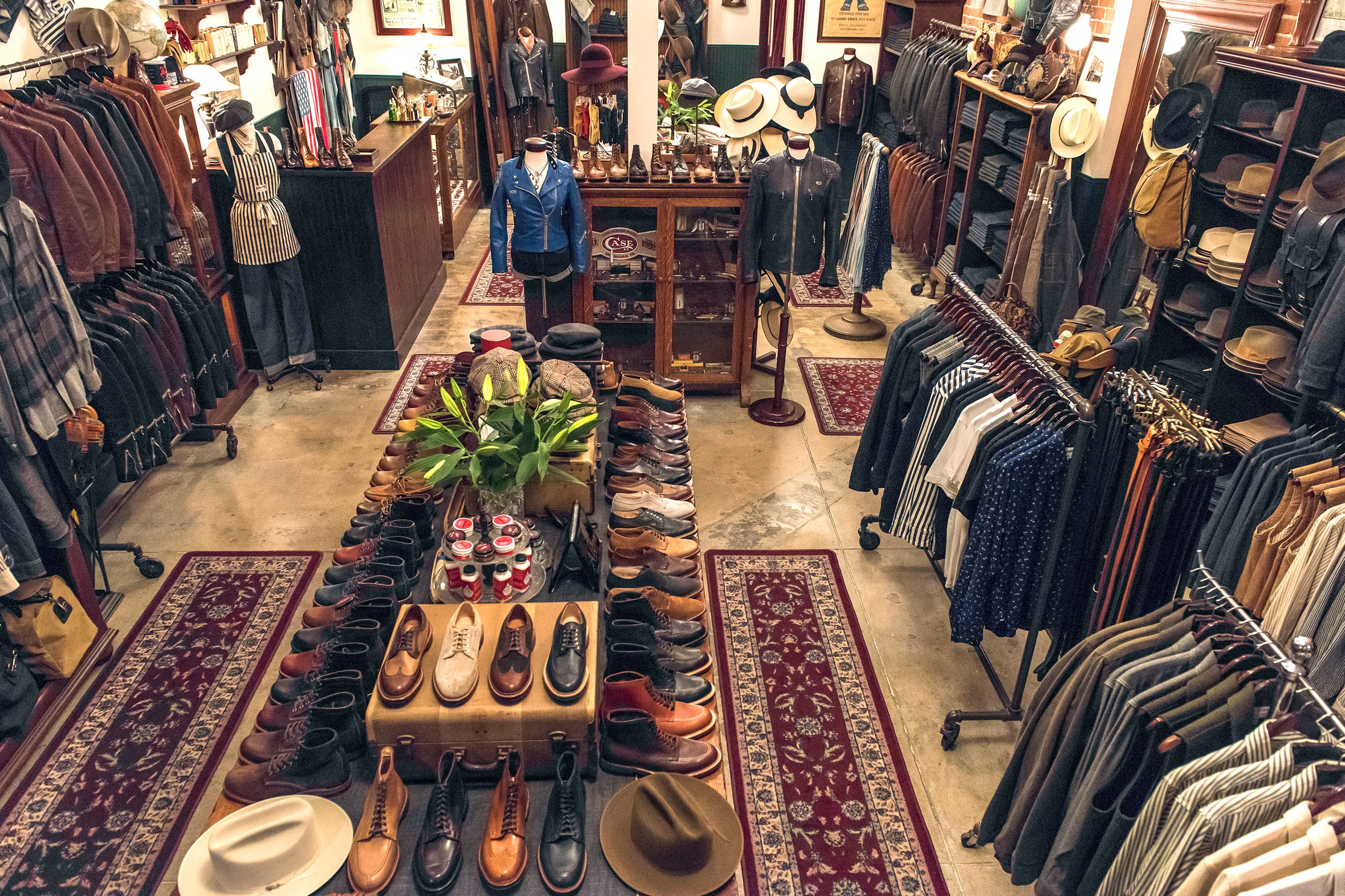 The Stronghold flagship store, interior 5