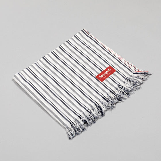 Classic Stronghold Scarf, Grey Pin Stripe