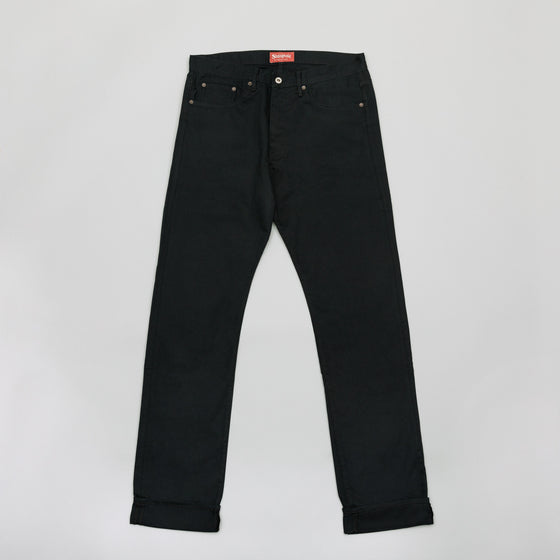 Heritage Fit, Black Cotton Twill