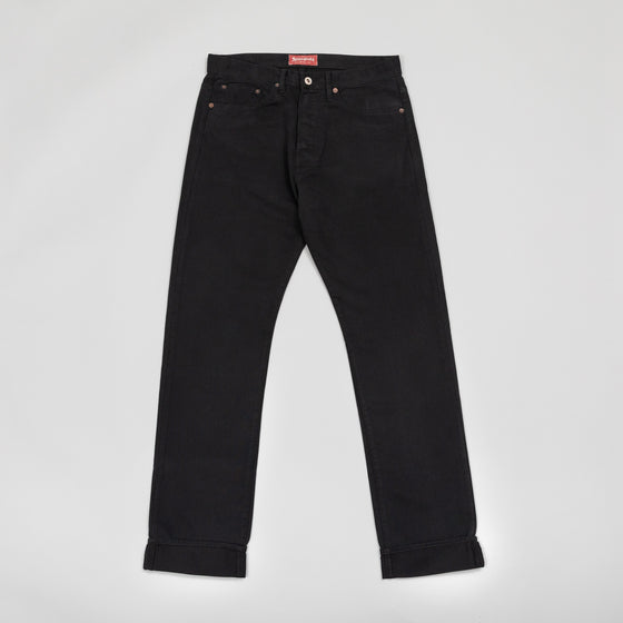 Heritage Fit, Black Bedford Corduroy