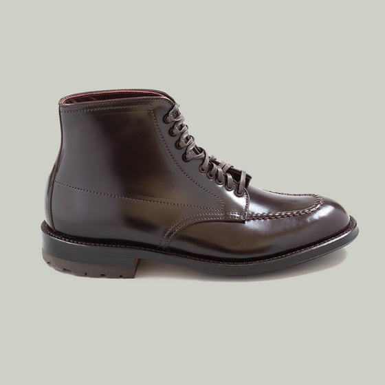 Handsewn Indy Boot, Color 8 Shell Cordovan