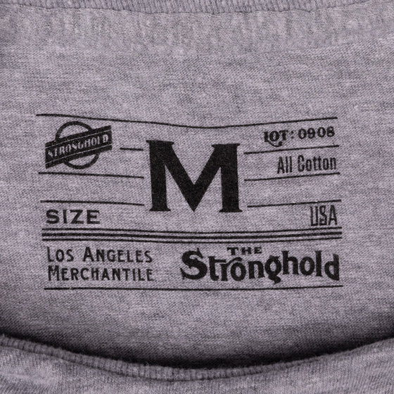 Classic Stronghold Steve Venice T-Shirt, Grey