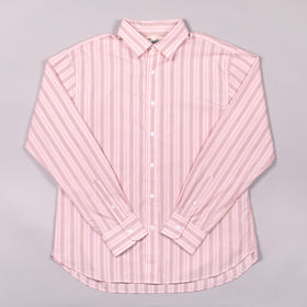 Classic Pink Pin Stripe Dress Shirt