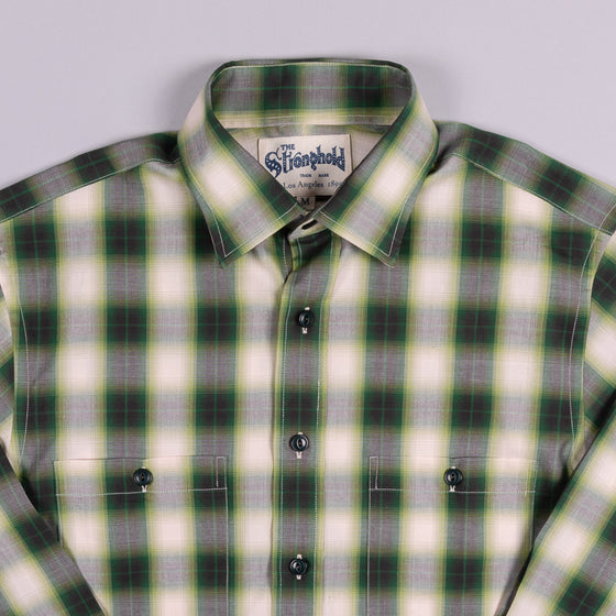 Shadow Plaid Work Shirt Hunter