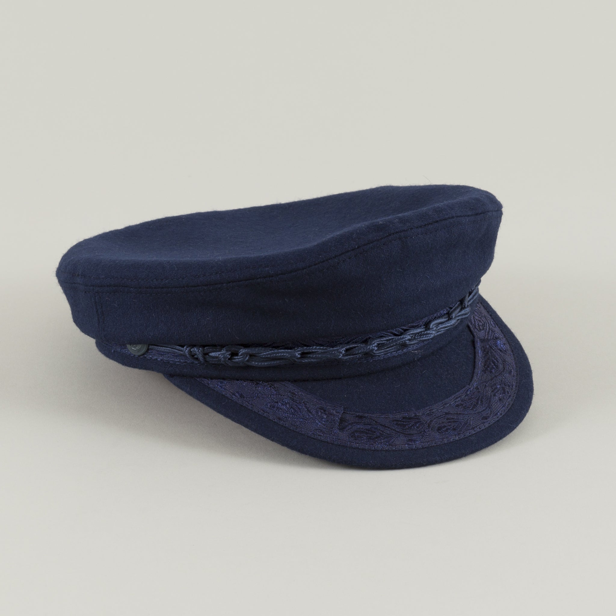 06e4f348 Greek Fisherman's Cap, Blue - The Stronghold