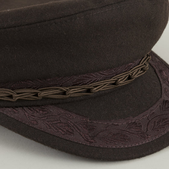 Aegean Greek Fishermans Cap Brown Image #1
