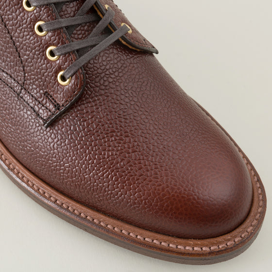 Alden Chukka Boot Brown Scotch Grain Image #1