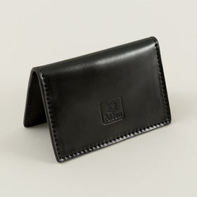 Alden Folding Card Case Black Shell Cordovan Image #1