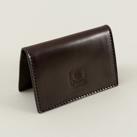 Alden Folding Card Case Color 8 Shell Cordovan Image #1
